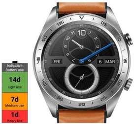 NEW Honor Magic SmartWatch Smartwatch  (Brown Strap, Regular