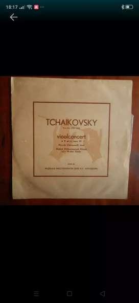 Tchaikovsky viool concert-piringan hitam