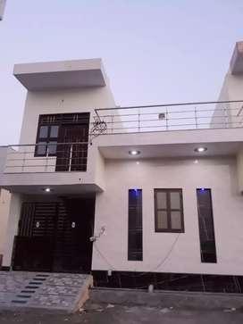 75 gaj new kothi for sell 2100000 loan suvidha uplabd pakki rajistry