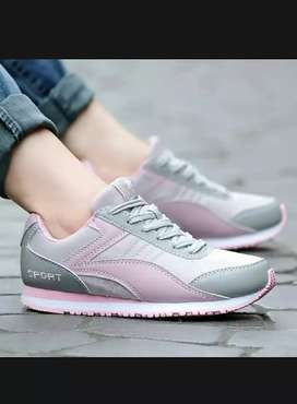 Shoes casual and running 100% imported