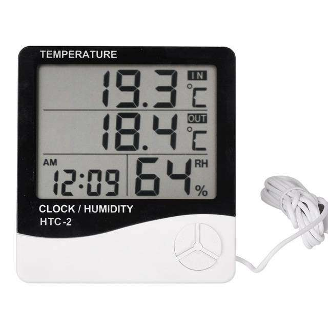 HTC-2 TEMPERATURE HUMIDITY METER 3 IN ONE 0