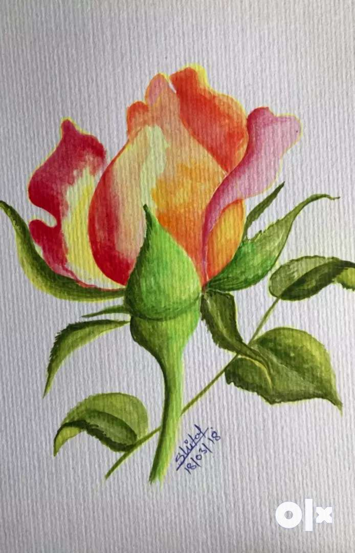 Watercolour painting 0