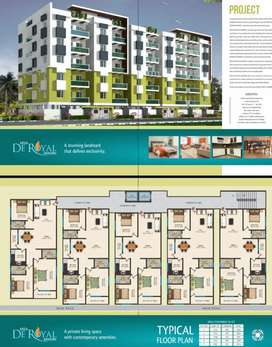 3BHK Spacious Flats For Sale At Prime Location Near Tolichowki
