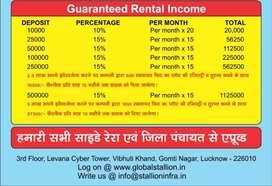Real estate ke itihas me phli bar weekly income vo bhi bina liability