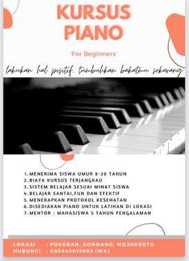 KURSUS PIANO / LES PIANO - KEYBOARD MOJOKERTO