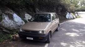 M 800, 2001 model ,mpfi engine, Lpg endoes,Fc 2022,insurance current,