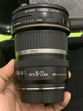 Canon EFS 10-22mm USM