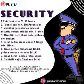 LOKER SECURITY PRIBADI