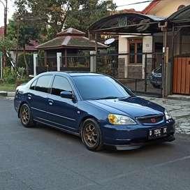 Honda Civic Vti es 2001 matic,rare colour,bisa TT,FREE baliknama
