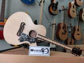 Jual Gitar akustik J200 Natural Mumer