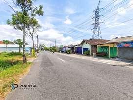 Jual Tanah Cocok Usaha, Rumah Mewah di Tepi Jl Palagan Km 12, Jogja