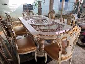 Kursi makan sofa meja gendong