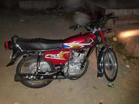 Honda 125 for sale in showroom condition