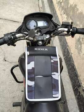 Two wheeler Tank covers and Side bags
