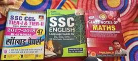 Government exam books for ssc .etc