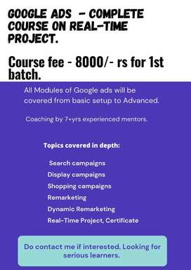 Google ads real time training