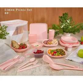 LIMON - 60 Piece - Picnic Set use for home and out door travel