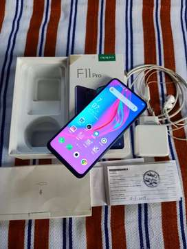 Oppo f11 pro all accessories complete box