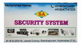HD cctv of any mp with complete work