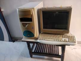 Computer ..very old.. PC cable wire missing...