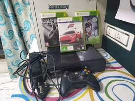 Xbox 360 with 3 games and 1 controller *Non Negotiable*