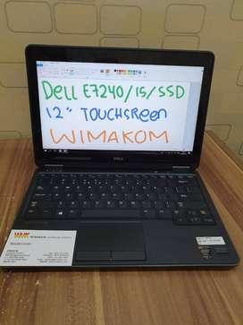Laptop Dell 7240 Core i5 Ram 4gb Hdd 500 Ringan Tipis Touchscreen