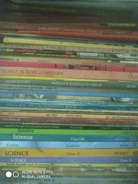 Class 7 - 12 all subject NCERT BOOKS