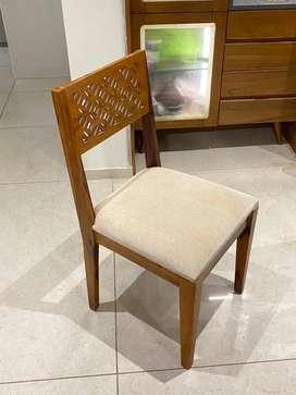 6 Premium Dining Chairs Set