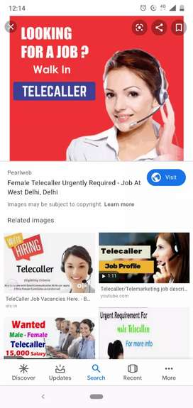 Wanted Tele caller