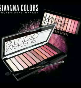 Eyeshadow Palette Sivanna Colors Make Up Studio Deluxe