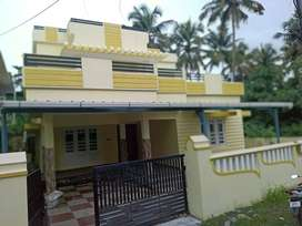 CHITILAPPILLY, 5.450 cent, 2000 sqft, 3 BHK, 58 Lakh Negotiable,