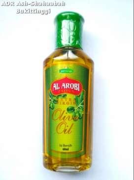 Minyak Zaitun Al- Arobi 60ml - Extra Virgin dan olive Oil