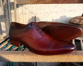 moron oxford real leather hand made shoes