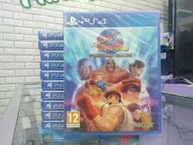 KASET PS4 STREET FIGHTER 30TH ANNIVERSARY COLLECTION NEW