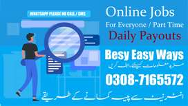 Part time online jobs for everyone in pakistan