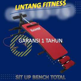 Papan Sit Up Bench Total I Alat fitnes pengecil perut murah purwokerto