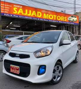 KIA Picanto Automatic Model 2020 Lahore Register