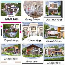 ribuan karya kami, arsitek /desain rumah pengalaman 16 th di Pekanbaru