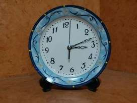 HOME DECORATION PIECE , PLATE - CLOCK , DECORATION PIECE  .