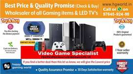 Unbeatable PS2,PS4,PS3,XBOX1/X/S/360,Switch,Vr All Gaming items&LED TV