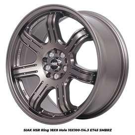 Velg Mobil Ring18 Racing Crv Ertiga Hrv Rush Terios Xpander dll