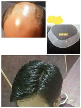 imported hair units/pieces for Men.