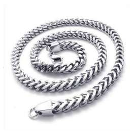 Ekslusive Curb Chain Necklace Titanium Steel - Kalung Pria