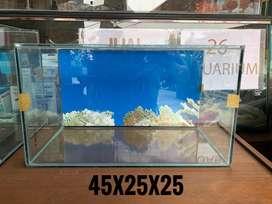 Di jual aquarium 45x25x25
