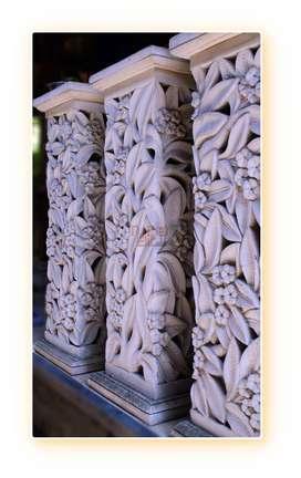 Cari Relief Dinding Rumah dan Ahli Taman & Ornamen Pilar dan Dinding H