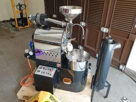 Mesin roasting kopi wiliam edison w3100ir 3kg infrared burner second