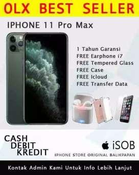 Iphone 11 PRO MAX Garansi Resmi // Bisa Di Kredit