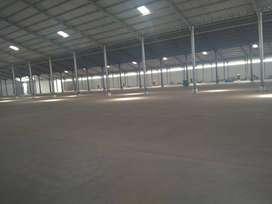 Disewakan gudang LT 34000 LB 23000, Siap pakai untuk pabrik