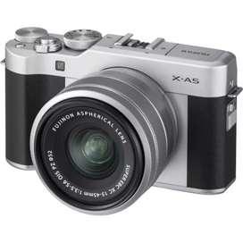 Fujifilm X-A5 warna Hitam Silver