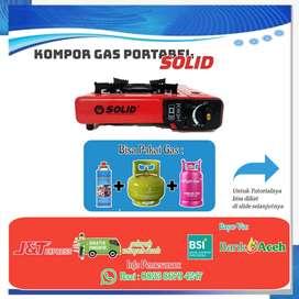 Kompor Gas Portabel Solid Murah